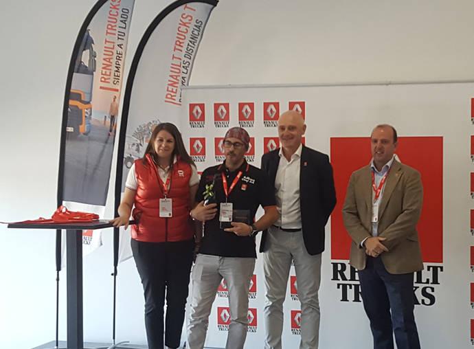 Raúl Álvarez será el finalista español en el Renault Trucks Optifuel Challenge