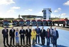 Somauto entrega nueve vehículos de gas a Comujesa