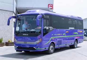 Otokar entrega un Navigo TH a Autobuses Palomera