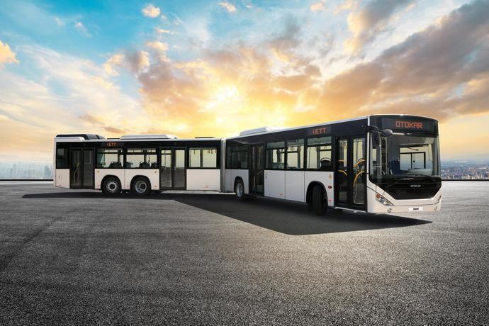 Otokar: 100 autobuses urbanos articulados a Estambul