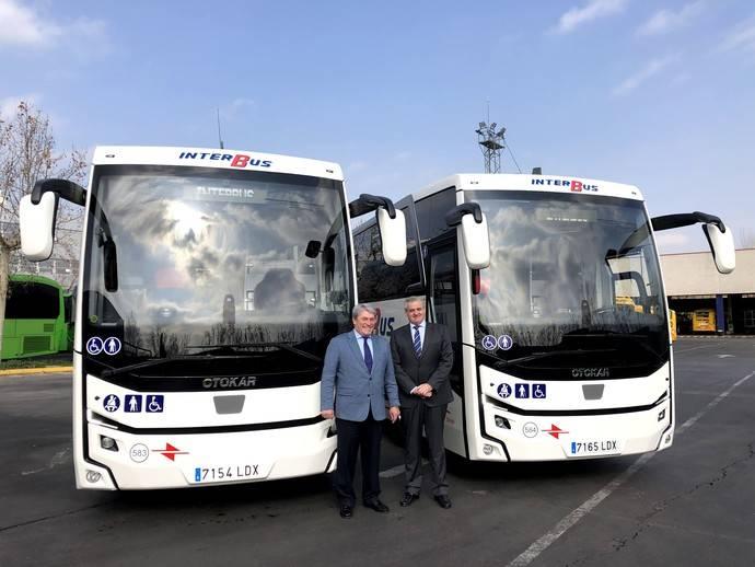 Dos minibuses Otokar Ulyso T han sido adquiridos por Interbus