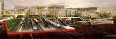 La nueva estación intermodal de Ourense.