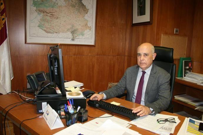 David Merino, director general de Carreteras y Transportes de Castilla-La Mancha.