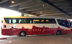 Autobus del servicio de transporte de Castilla-La Mancha.