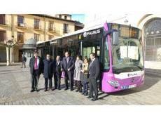 El servicio de transporte público de Palencia valorado con un notable alto por usuarios