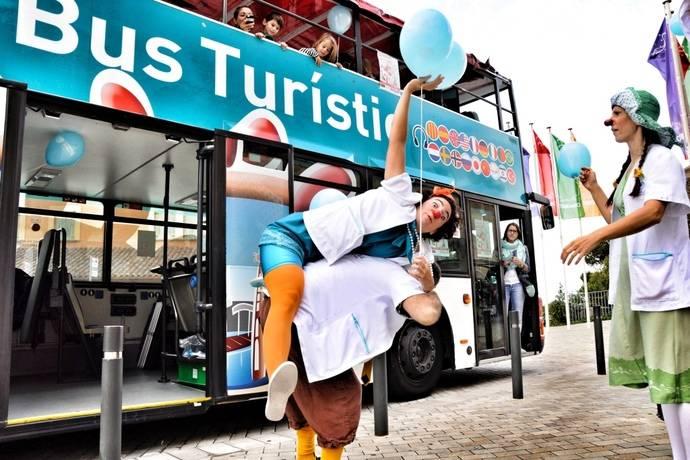 El Barcelona Bus Turístic recibe a Los Pallapupas