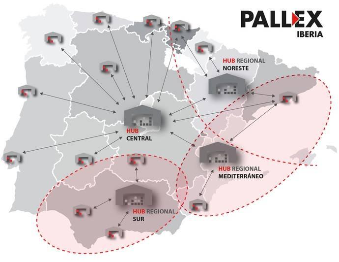 Pall-Ex refuerza su red de Hubs Regionales con nuevas aperturas este 2017