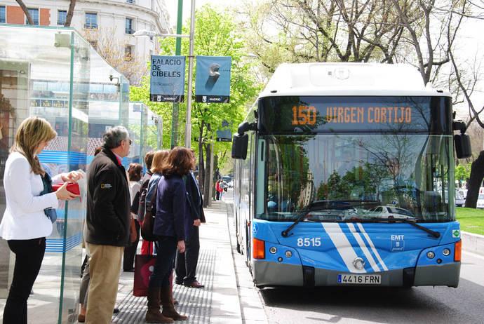 La mejora económica de las familias hace crecer el uso del transporte público