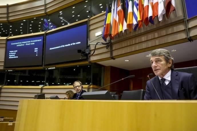 Europa aprueba medidas de apoyo, en respuesta al brote del Covid-19