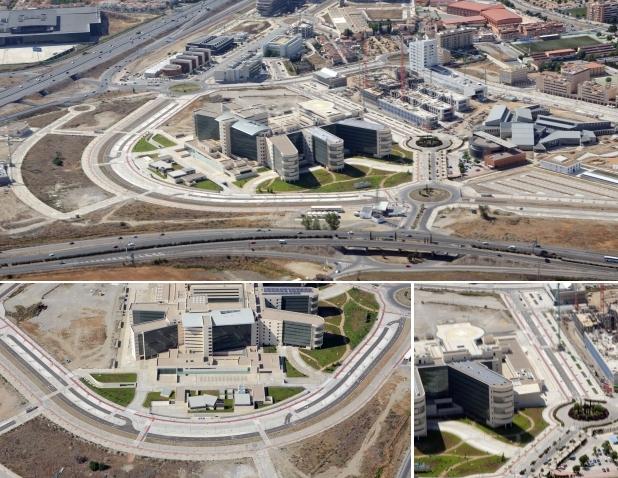 Andalucía realiza nuevos accesos al Parque Tecnológico de la Salud
