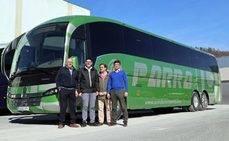 Autobuses Parra estrena un nuevo SC7 del fabricante Sunsundegui