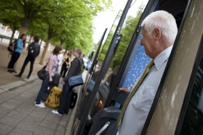 Los usuarios del autobús de larga distancia crecieron un 8,5% en abril