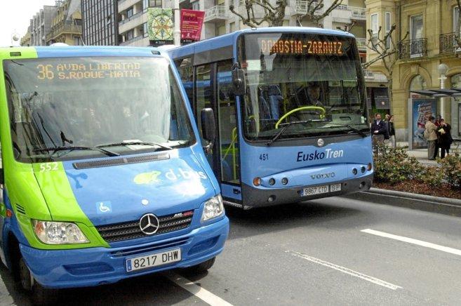 Dos de cada 10 vascos utilizan el transporte colectivo, y el 35% el vehículo privado