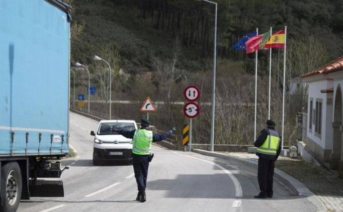 Cerrados los pasos fronterizos con Portugal de las carreteras autonómicas de Castilla y León