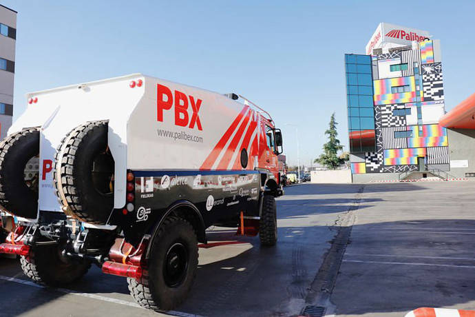 Palibex estará patrocinando al PBX Dakar Team