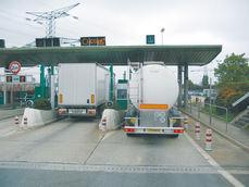 Más peajes a camiones en carreteras navarras
