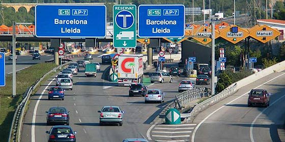 Restricciones del tráfico para camiones en Cataluña durante el año 2018