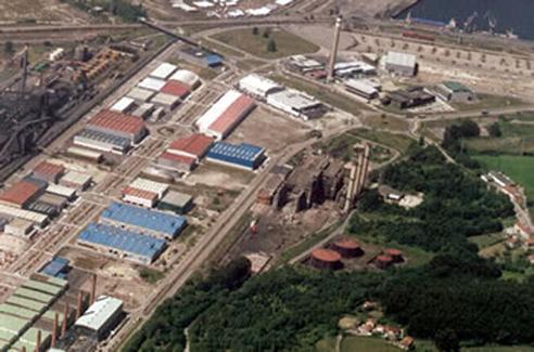 La obra de los accesos al Parque Empresarial Principado de Asturias obliga a cortar el tráfico el tramo inicial de la variante de Avilés