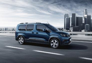 Peugeot presenta el nuevo Rifter, un vehículo polivalente