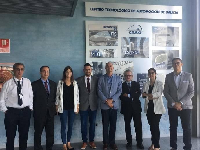 Castrosua visita el Centro gallego de Tecnología