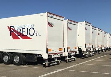 Transportes Pibejo incorpora 50 semirremolques usados de Lecitrailer