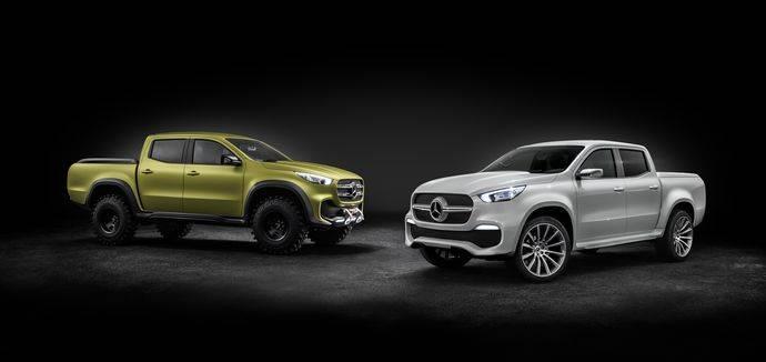 Nuevo pickup Mercedes-Benz Concept CLASE X