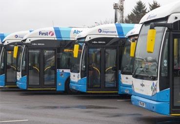 Autobús de pila de combustible: el