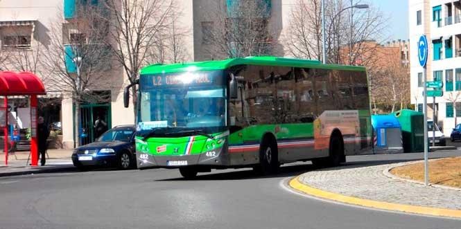 Autobuses circulares de Pinto amplían frecuencias