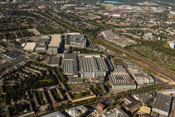 La planta de Mercedes en Dusseldorf producirá el Sprinter eléctrico