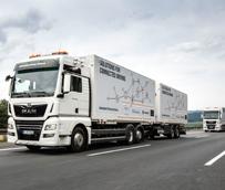 'Platooning': MAN realiza en Alemania el primer uso práctico de convoyes de camiones en red