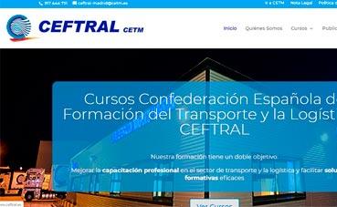 Ceftral lanza una nueva web con un estilo más moderno y dinámico
