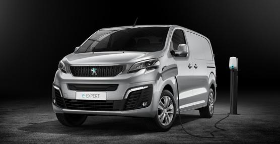 El nuevo Peugeot e-Expert con motorización 100% eléctrica