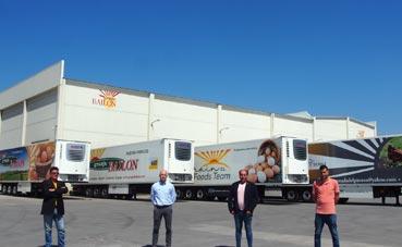 Grupo Bailón vuelve a confiar en Schmitz Cargobull