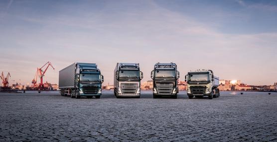 Volvo Trucks lanza una nueva generación de camiones de gran tonelaje