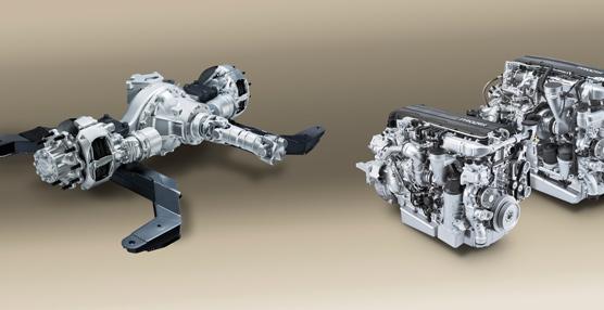 DAF Components presenta el nuevo eje trasero, eficiente y silencioso
