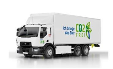 Renault Trucks entrega 20 camiones eléctricos a Carlsberg