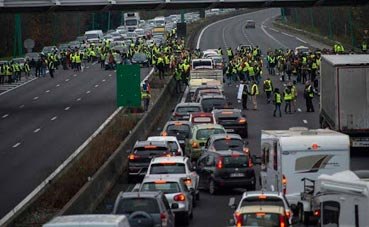 Los sindicatos franceses convocan hoy una nueva huelga