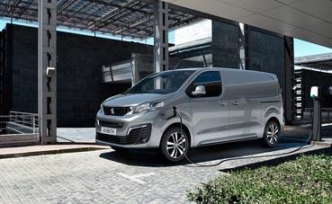 El nuevo Peugeot e-Expert, un modelo completamente eléctrico
