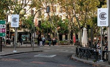 En peligro el abastecimiento y las mudanzas de Madrid Centro