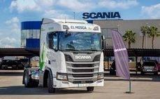 La empresa el Mosca incorpora 3 Scania de GNL a su flota de camiones