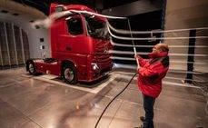 Tecnología aerodinámica para el nuevo Actros