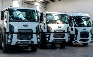 Llegan a España los primeros Ford Trucks rígidos de obra