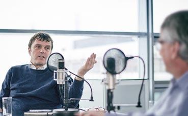 Podcast de Daimler sobre sostenibilidad con Nigel Topping