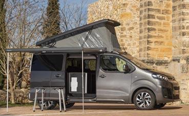 Gama Camper de Citroen, diseñada para la aventura