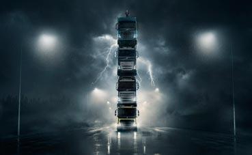 Volvo presenta cuatro camiones nuevos con un espectacular vídeo