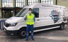 MAN de Sevilla cede un furgón TGE para labores de ayuda frente al Covid-19