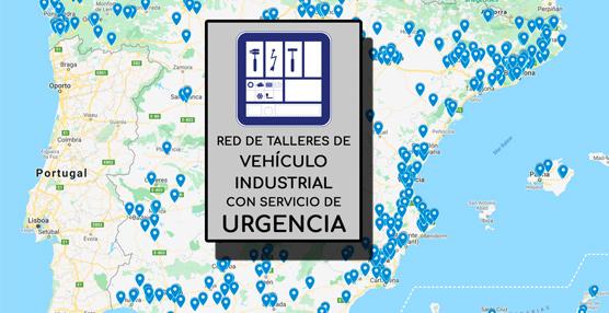 Ya está activo el mapa de talleres de Vehículo Industrial