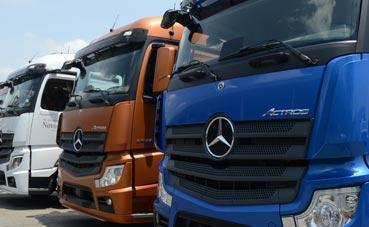 Mercedes-Benz proveerá de 100 Actros a Contatto