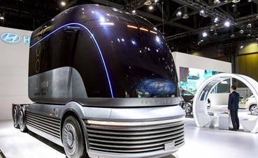 El camión pesado HDC-6 Neptune de Hyundai debuta en Corea