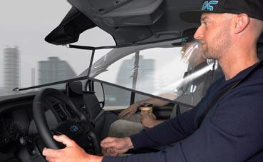 Ford lanza pantallas de protección para el interior de la cabina